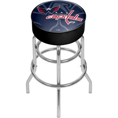 NHL Watermark Swivel Bar Stool NHL Team: Washington Capitals