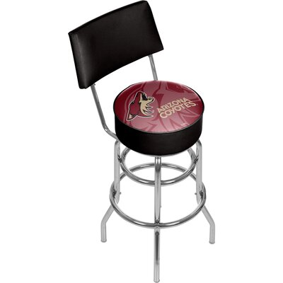 NHL Watermark 31 Swivel Bar Stool NHL Team: Arizona Coyotes