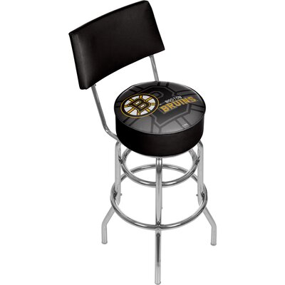 NHL Watermark 31 Swivel Bar Stool NHL Team: Boston Bruins