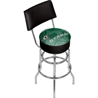NHL Watermark 31 Swivel Bar Stool NHL Team: Dallas Stars