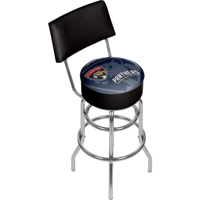 NHL Watermark 31 Swivel Bar Stool NHL Team: Florida Panthers