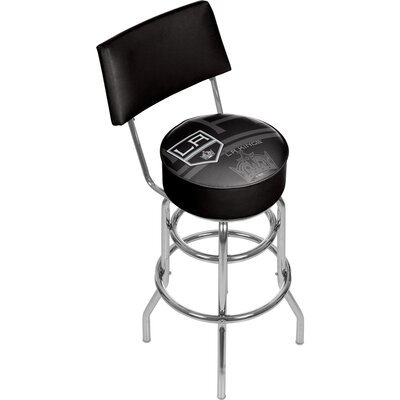 NHL Watermark 31 Swivel Bar Stool NHL Team: Los Angeles Kings