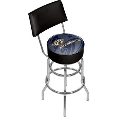 NHL Watermark 31 Swivel Bar Stool NHL Team: Nashville Predators