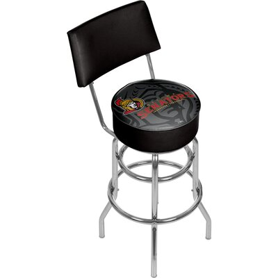 NHL Watermark 31 Swivel Bar Stool NHL Team: Ottawa Senators