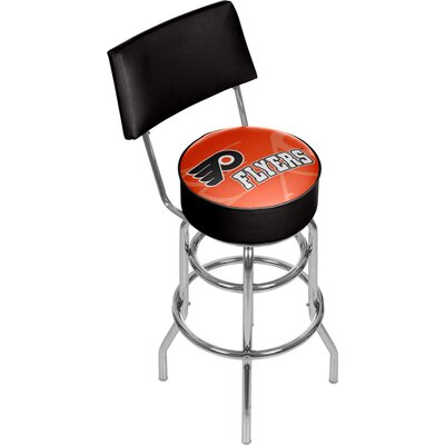NHL Watermark 31 Swivel Bar Stool NHL Team: Philadelphia Flyers