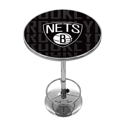 NBA City Pub Table NBA Team: Brooklyn Nets