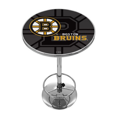 NHL Watermark Pub Table NHL Team: Boston Bruins