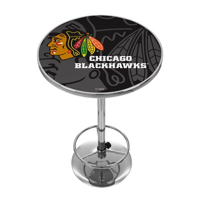 NHL Watermark Pub Table NHL Team: Chicago Blackhawks