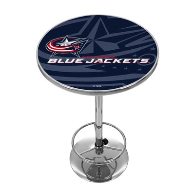 NHL Watermark Pub Table NHL Team: Columbus Blue Jackets