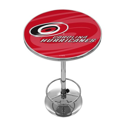 NHL Watermark Pub Table NHL Team: Carolina Hurricanes