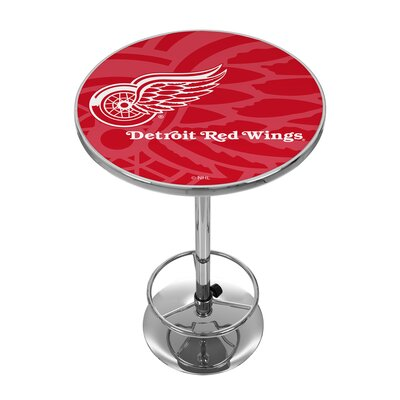 NHL Watermark Pub Table NHL Team: Detroit Red Wings