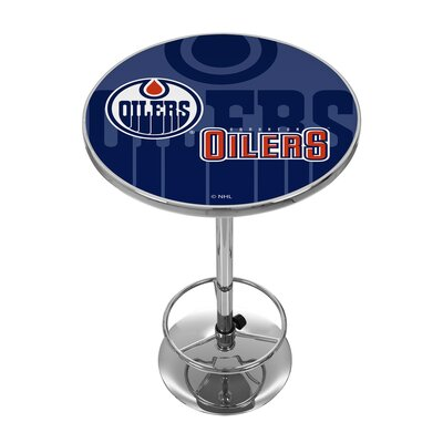 NHL Watermark Pub Table NHL Team: Edmonton Oilers