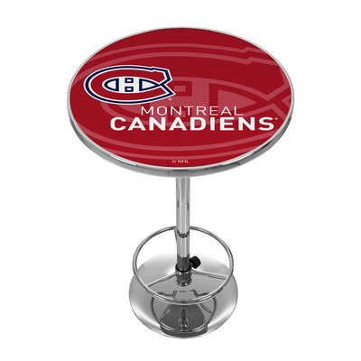 NHL Watermark Pub Table NHL Team: Montreal Canadiens