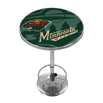 NHL Watermark Pub Table NHL Team: Minnesota Wild