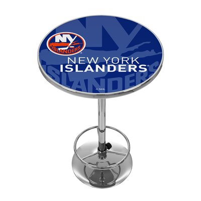 NHL Watermark Pub Table NHL Team: New York Islanders