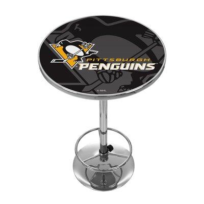 NHL Watermark Pub Table NHL Team: Pittsburgh Penguins
