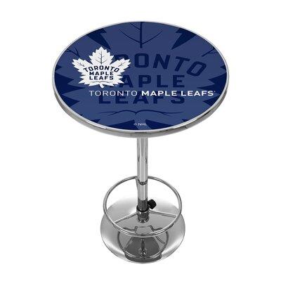 NHL Watermark Pub Table NHL Team: Toronto Maple Leafs