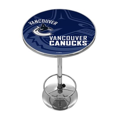 NHL Watermark Pub Table NHL Team: Vancouver Canucks