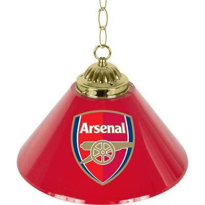 Premier League Single Shade 1-Light Mini Pendant Premier League Team: Arsenal
