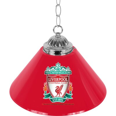Premier League Single Shade 1-Light Mini Pendant Premier League Team: Liverpool