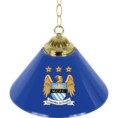 Premier League Single Shade 1-Light Mini Pendant Premier League Team: Manchester City