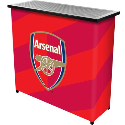 Premier League Team Portable Home Bar Premier League Team: Arsenal