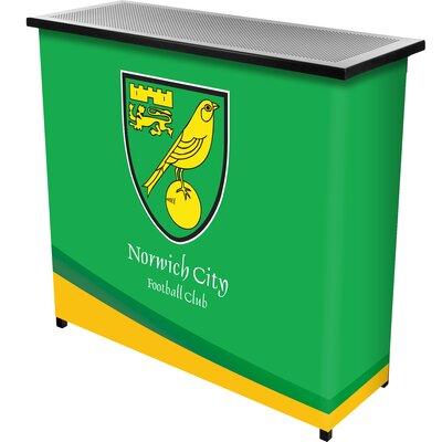 Premier League Team Portable Home Bar Premier League Team: Norwich City