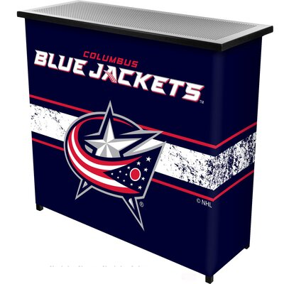 NHL Portable Bar NHL Team: Columbus Blue Jackets