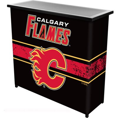 NHL Portable Bar NHL Team: Calgary Flames