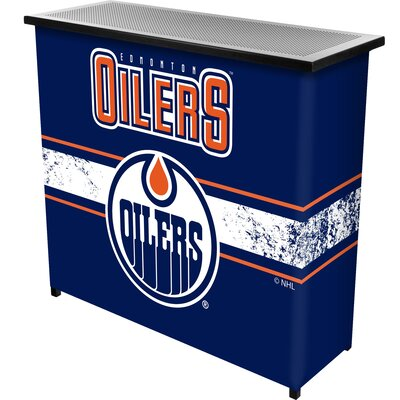 NHL Portable Bar NHL Team: Edmonton Oilers