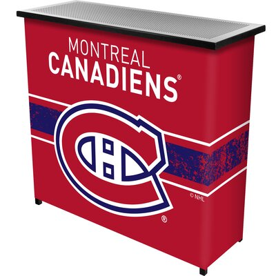NHL Portable Bar NHL Team: Montreal Canadiens