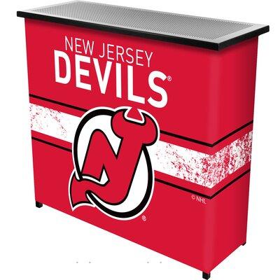 NHL Portable Bar NHL Team: New Jersey Devils