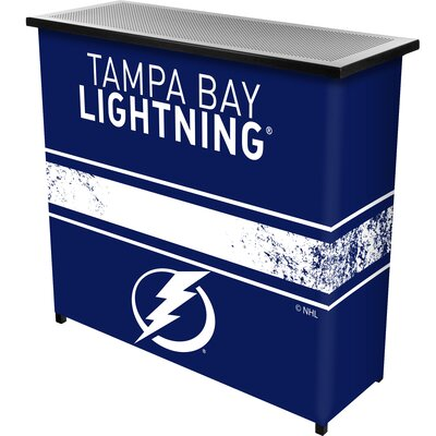 NHL Portable Bar NHL Team: Tampa Bay Lightning