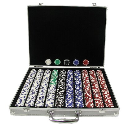 Royal Suited Chips with Aluminum Case 10-1400-1ks