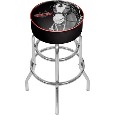 Budweiser Clydesdale 31 Swivel Bar Stool