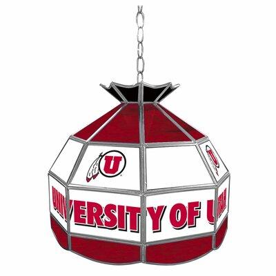 University of Utah Stained Glass 16 Tiffany Lamp