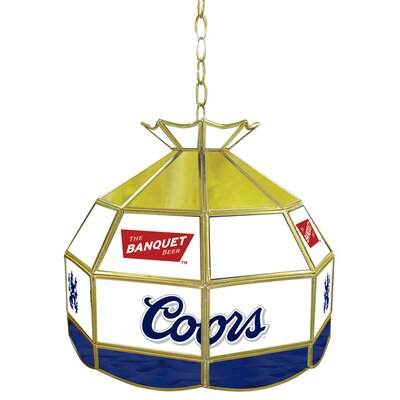 Coors Banquet Stained Glass 16 Tiffany Lamp