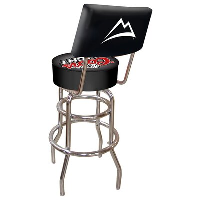 Bad credit financing Coors Light Padded Bar Stool with B...