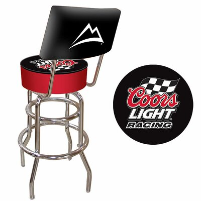 No credit financing Coors Light Racing Padded Bar Stool...