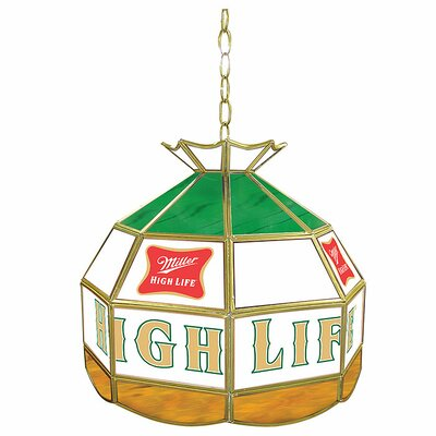 Miller High Life 16 Stained Glass Tiffany Lamp