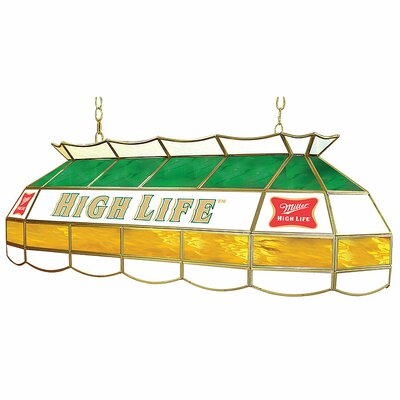 Miller High Life 3-Light Pool Table Light