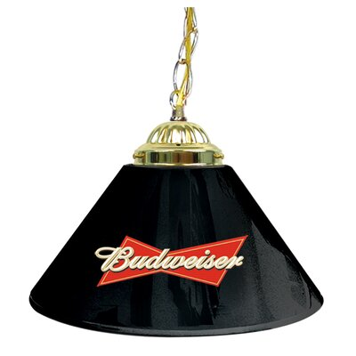 Budweiser 14 Single Shade Bar Lamp