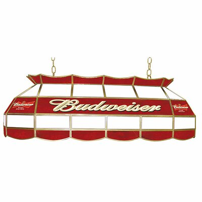 Budweiser 3-Light Pool Table Light