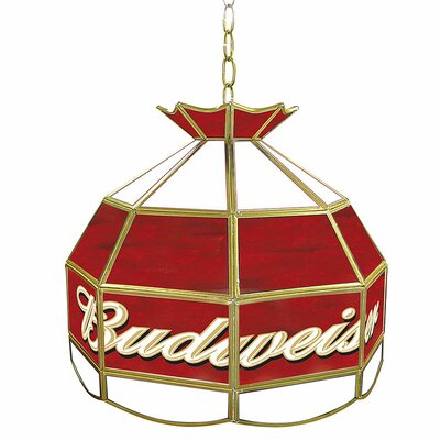 Budweiser 16 Tiffany Light Fixture