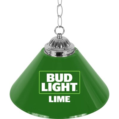 Bud Light Lime Single Shade Bar Lamp