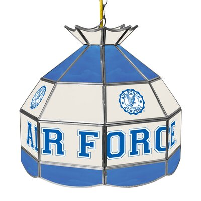 NCAA 16 Stained Glass Tiffany Lamp NCAA Team: U.S. Air Force Academy