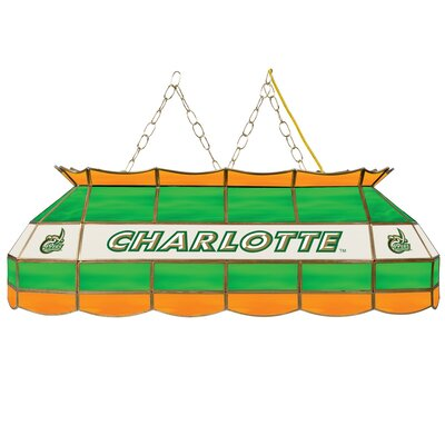 NCAA Pool Table Light NCAA Team: North Carolina - Charlotte