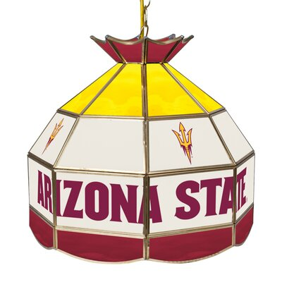 NCAA 16 Stained Glass Tiffany Lamp NCAA Team: Arizona State