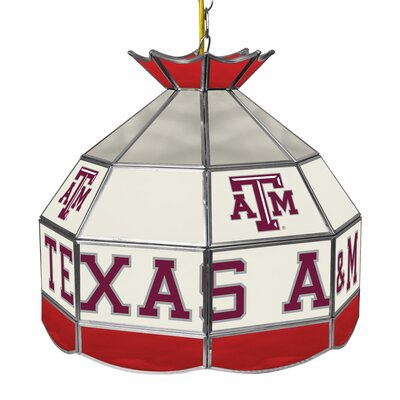 NCAA 16 Stained Glass Tiffany Lamp NCAA Team: Texas A&M