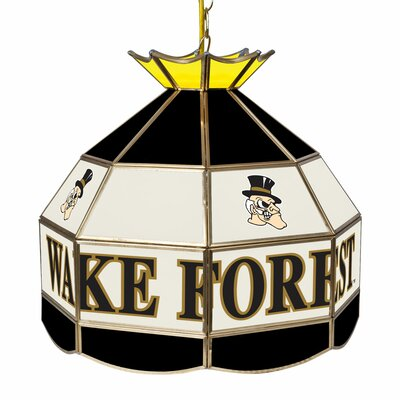 NCAA 16 Stained Glass Tiffany Lamp NCAA Team: Wake Forest
